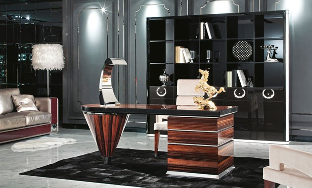 modern, Italian contemporary office desk by Italy 2000