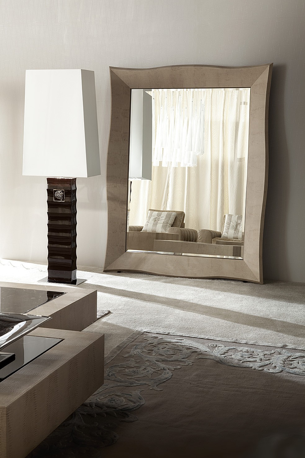 modern living room mirror stand up floor mirror los angeles