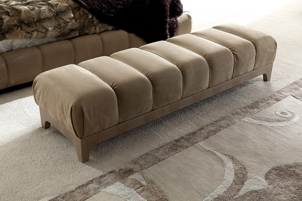 Giorgio Lifetime Italian Upholstered Bench los angeles