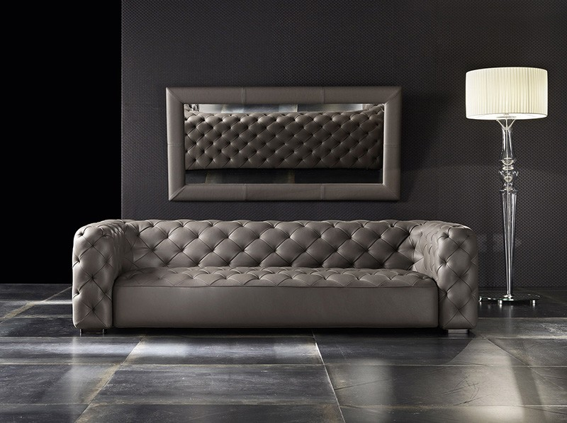 Lofs Modern Barny Tufted Sofa Los Angeles
