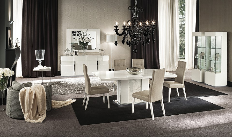ALF Contemporary Dining Room Set Canova