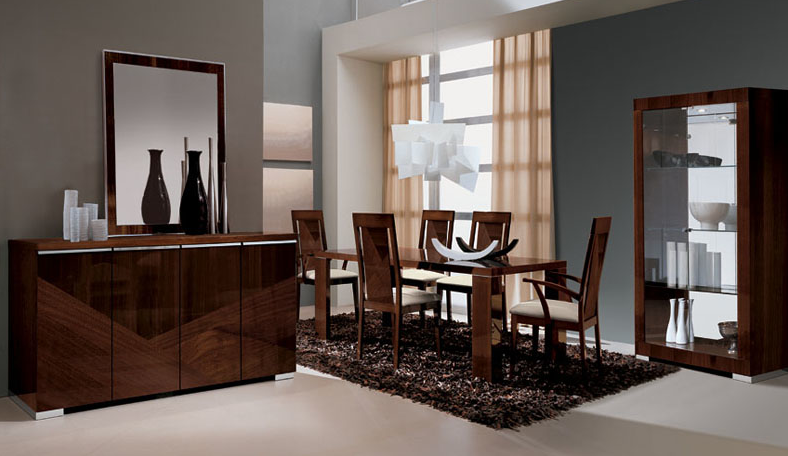 ALF Contemporary Dining Room Capri