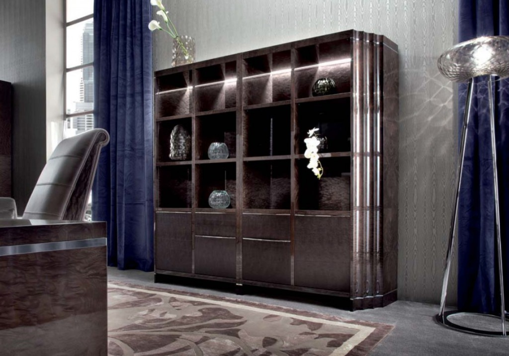 Giorgio Absolute Double Bookcase 4084