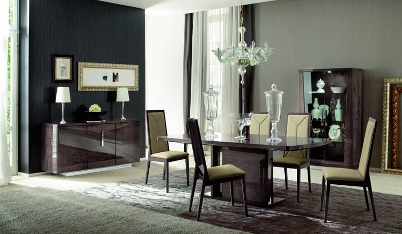 ALF Contemporary Dining Set Eva