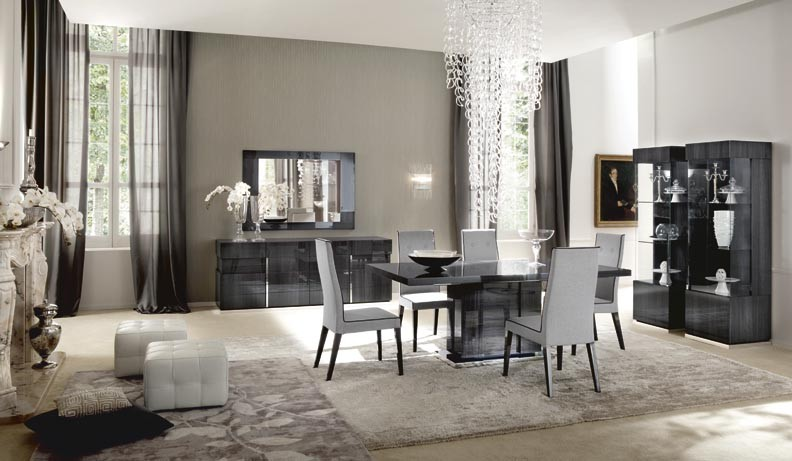 ALF Contemporary Dining Monte Carlo Extension Table