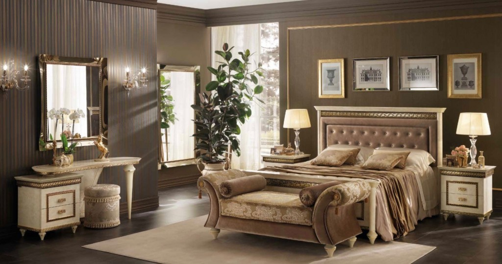 Arredoclassic Fantasia Upholstered Bedroom