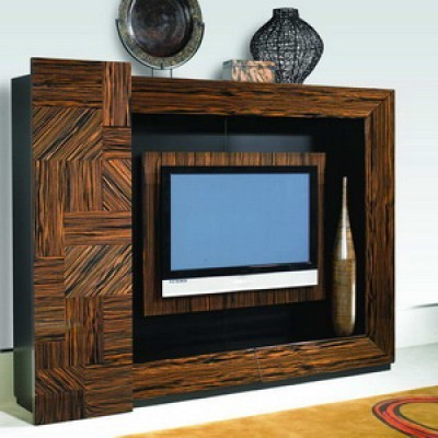 Nicole Miller Ritz Flat Screen Wall Unit NM-488-91
