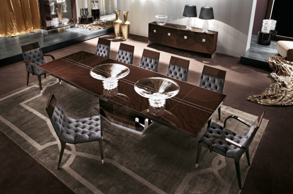 Giorgio Vogue Dining Rectangular Table 5000