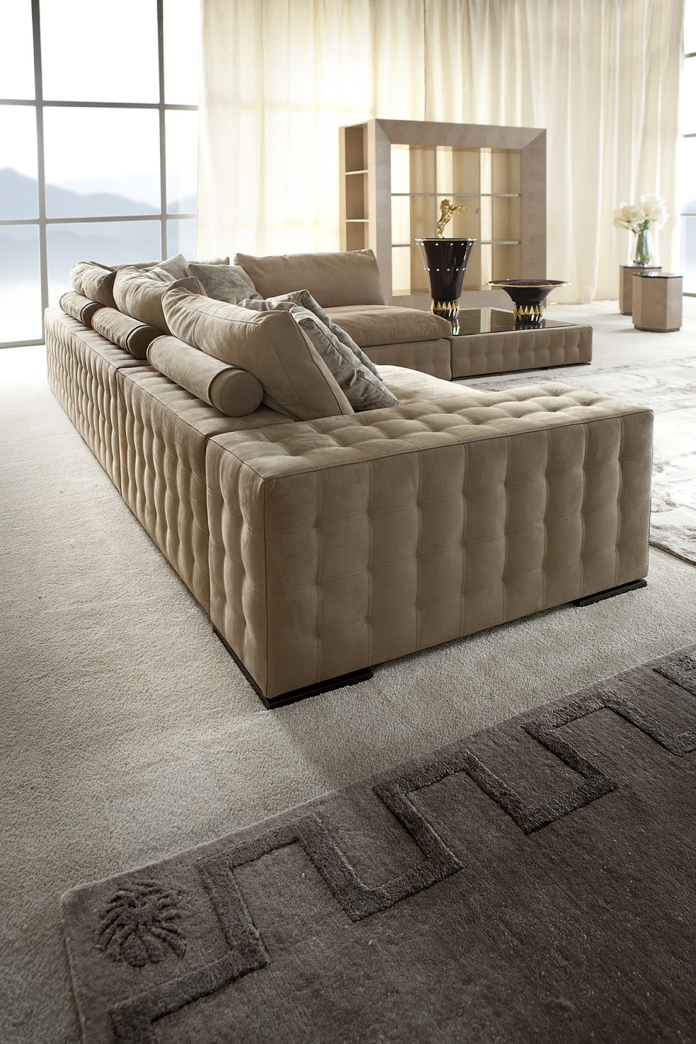 Modern Sectional Sofa Couch | Living Room Italian Furniture | Los ...