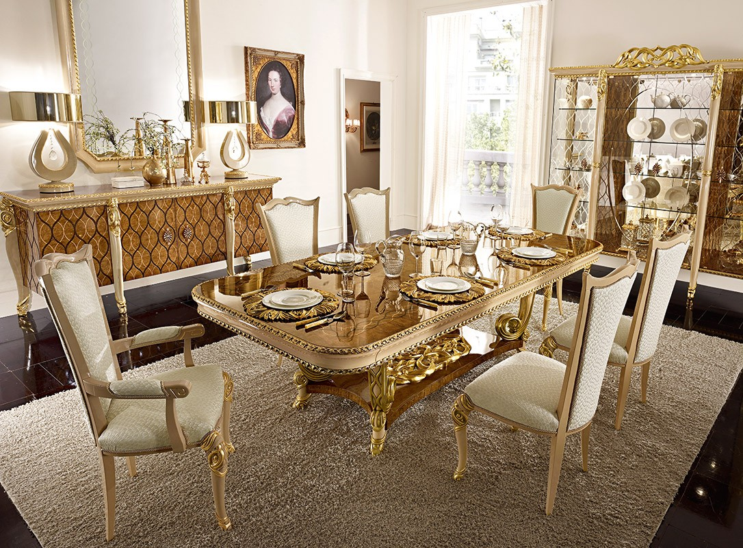 Merveilleux Harmony Traditional Dining Room Table
