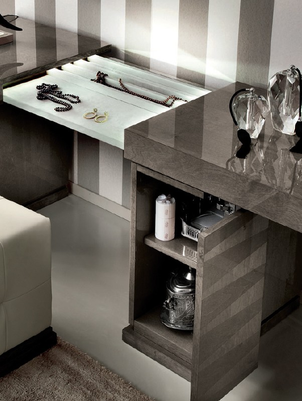 Alf Elegance Bedroom Set: ALF Contemporary Vanity Monaco