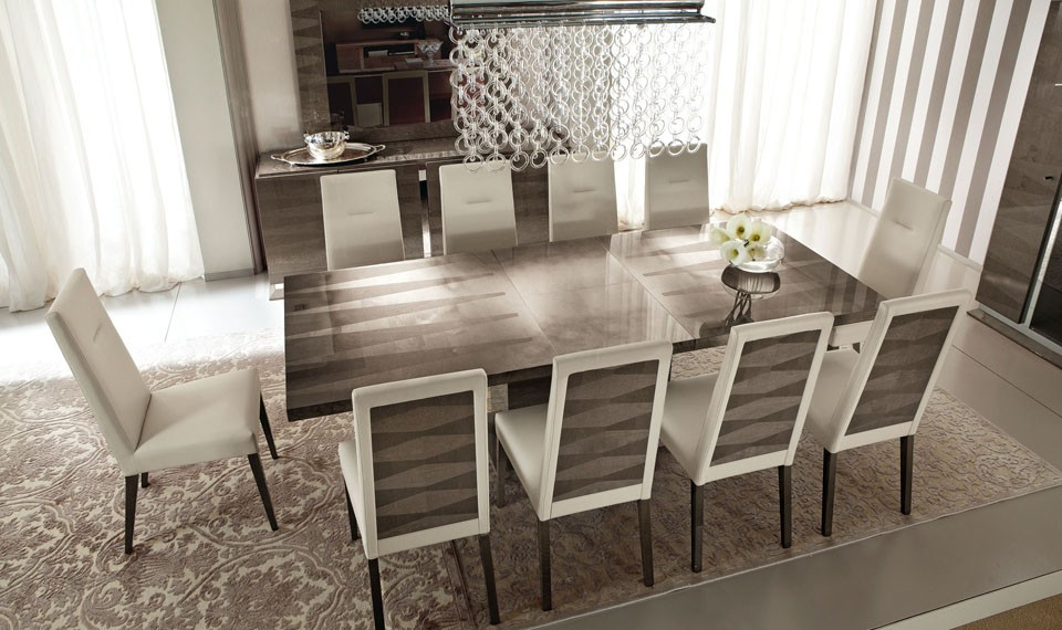 Alf contemporary dining set monaco for Contemporary dining set