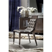Giorgio Absolute Side Chair w/Buttoned Back and Seat