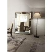 Giorgio Lifetime Floor Mirror w/ Mirrored Trim