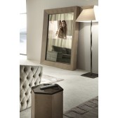 Giorgio Lifetime Floor Mirror w/ Plasma TV