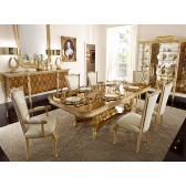 Harmony Traditional Dining Room Table