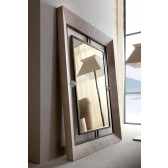 Giorgio Lifetime Floor Mirror with Murano Accents