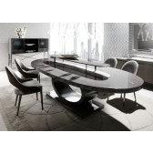 Giorgio Vision Oval Dining Table
