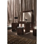 Giorgio Vogue Bedroom Vanity Desk 585  & Ottoman 595