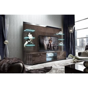Giorgio Absolute Entertainment Center with Shelves