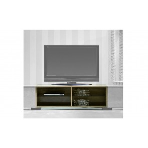 Giorgio Sunrise TV Unit W/Out Leather Shelves and optional Doors. 300-60 / 300-70