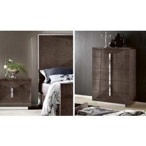 ALF Contemporary Bedroom 2 Drawer Night Stand Eva