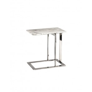 Eva End Table White