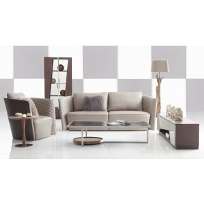 Modern Leather Sofa Los Angeles by Lauren