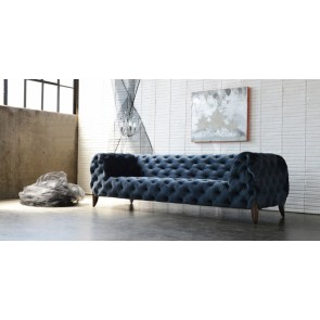 Modern Italian Sabine Sofa & Chair