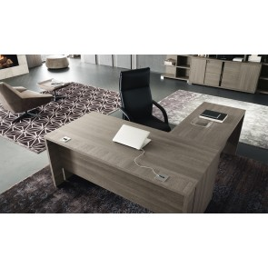 ALF Tivoli Desk with Return