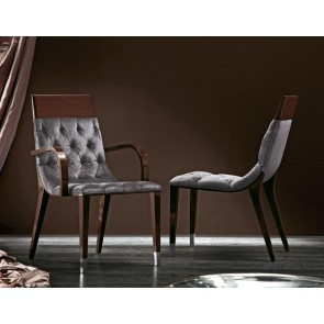 Giorgio Vogue Dining Side and Arm Chair with Buttoned Back 5030 / 5020