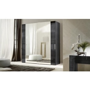ALF Contemporary Bedroom Monte Carlo 2 Door Sliding Wardrobe