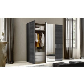 ALF Contemporary Bedroom Monte Carlo 4 Door Swinging Wardrobe